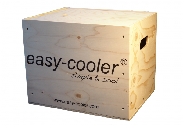 "easy-cooler ""wooden box six"""